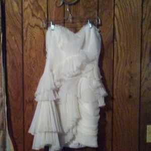 Off white runway dress new with tags.Tag in 3rdpic